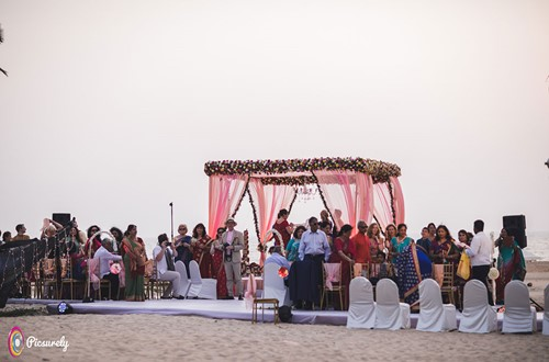 Goa Holiday inn wedding