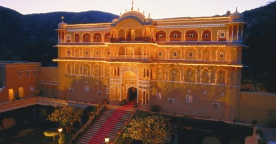 How much does a destination wedding at Samode Palace cost?