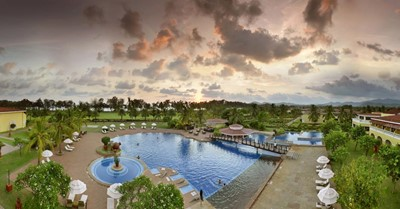 How much does a destination wedding at the Lalit Golf & Spa Resort, Goa cost?