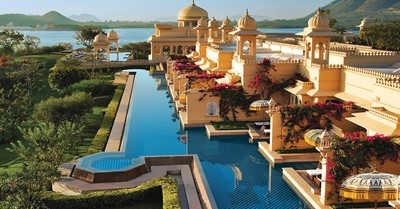 How much does a wedding in the oberoi udaivilas cost