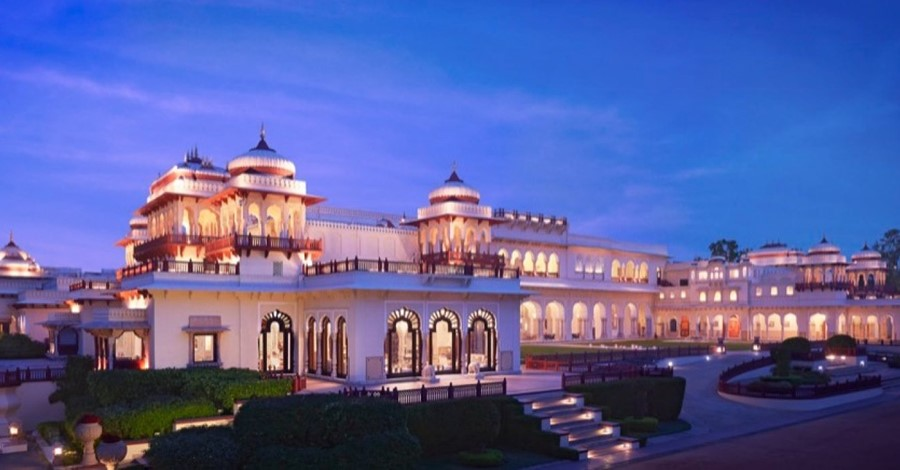 How much a destination wedding at Rambagh Palace, Jaipur cost?