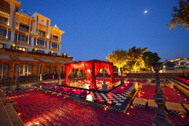 wedding at leela palace udaipur