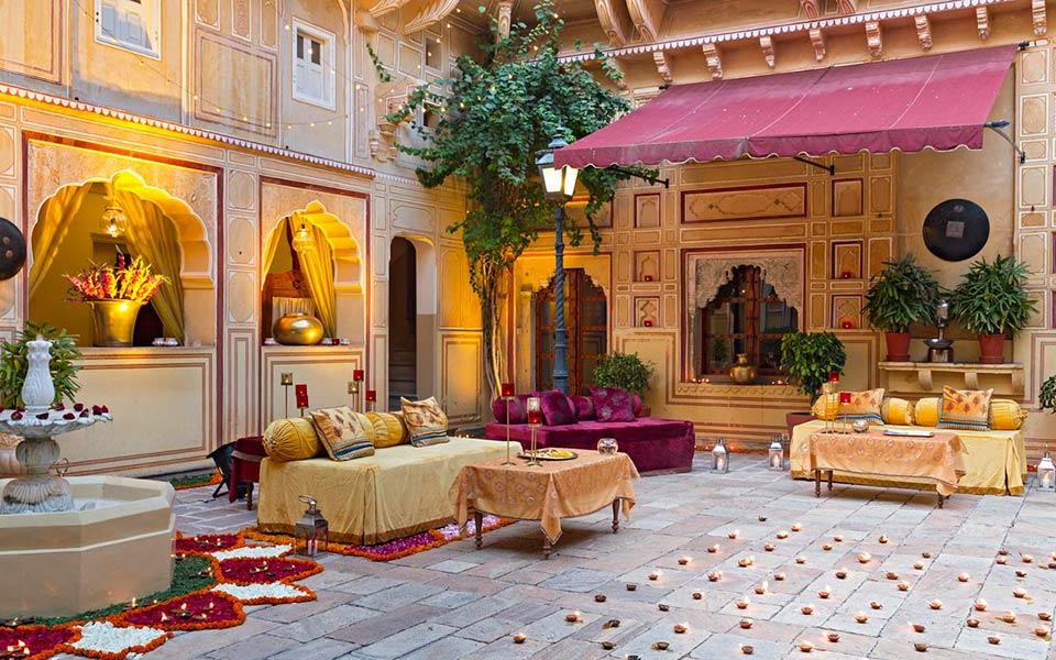 Samode Palace Jaipur wedding cost, Samode Palace wedding cost