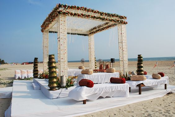 destination beach wedding planner in Goa